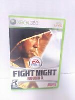 Fight Night Round 3 (Microsoft Xbox 360, 2006) Complete Tested Fast Shipping