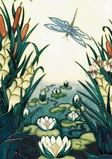 Moorcroft Card - LAMIA - Designer: Rachel Bishop