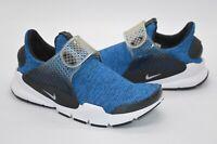 New $140 Nike Air Sock Dart SE Battle Blue/Black/White Running Shoe sz 6