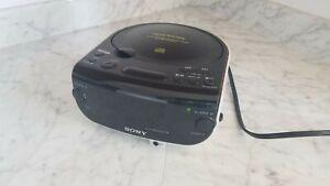 Sony Dream Machine FM/AM Dual Alarm CD Clock Radio Aux CD-R/RW ICF-CD815