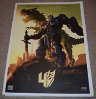 24x36 Optimus v3 Transformers The Last Knight Movie Poster - Mark Wahlberg