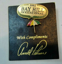 BAY HILL INVITATIONAL 2002 / ARNOLD PALMER GOLF PINS