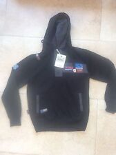 New Mens HLY Eqpt 3/4 button top Hoodie Hoody Jacket Top Sz Small S with Tags