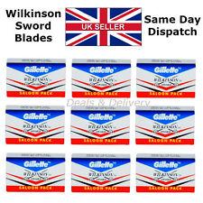 Wilkinson Sword Double Edge Cut Throat Safety Shaving Razor's Blades 5 20 50 100
