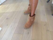 Boots ASH 37 Compensé Cuir Nubuck Fourré Acheté 200€ En Vente 35€