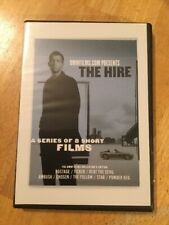 THE HIRE DVD A Series of 8 Short Films BMW Films (Clive Owen) - Very Rare