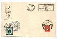1938 20. April  Geburtstag Führer DVX + SST Roma Napoli Nürnberg + MIF WK II