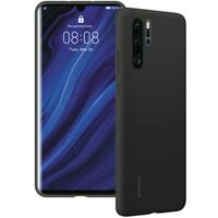 Custodia Originale per Huawei Per P30 Pro nero Cover Silicon Gel Case  Retro
