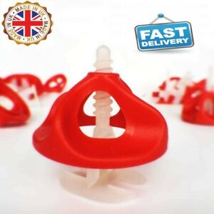 TILE SPACER Twister Levelling System 2mm&1mm Twister Screw 250, Twister Nut 100