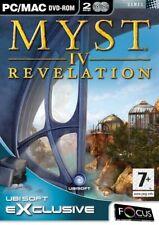 Myst IV: Revelation (PC DVD).