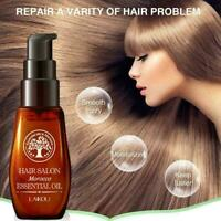 40ml Hair Care Moroccan Pure Oil Growth For Dry damaged Natural Repair Hair U5K4