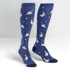 Sock It To Me Women's Knee High Socks - Dinos in Space
