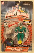 Power Rangers Turbo Double Shifter Action Green Ranger With Firing Cannon (MOC)