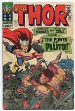 1966 Thor #128 ~God of Thunder & Son of Zeus Face Power of Pluto~ (Grade 7.0)