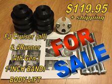 BANDI BODY LIFT - 1 (1.0) inch Toyota FJ & 4Runner (4th Gen.)