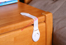 Cabinet Drawers Refrigerator Toilet Safe Plastic Lock Straps For Kid Baby Safety