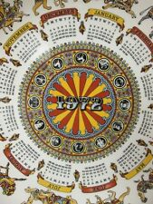 Wedgwood Horoscope Calendar Plate 2nd in Series Animal Carnival Zodiac c 1972!