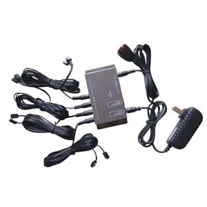 IR Remote Extender 8 Emitters 1 Receiver Infrared Repeater Hidden System Kit