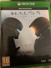 HALO 5 GUARDIANS Microsoft XBOX One - In case, works perfectly