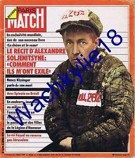 Paris Match n°1349 05/04/1975 Soljenitsyne Faycal Arabie filles légion d'honneur