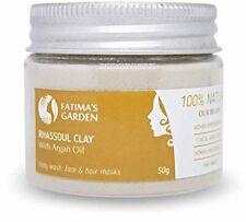 Fatima's Garden - Ghassoul Argile enrichi à l'huile d'argan pour masque de visa