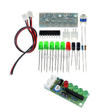3.5-12V KA2284 Audio Level Indicator DIY Electronic Kit Parts 5mm RED Green LED