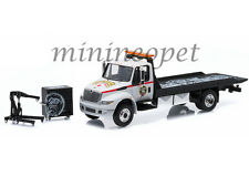 GREENLIGHT 33050 C GAS MONKEY 2013 INTERNATIONAL DURASTAR FLATBED TOW TRUCK 1/64