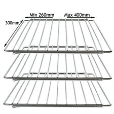 ACE Caravan Motorhome Small Adjustable Extendable Mini Oven Shelf Grill Rack x 3