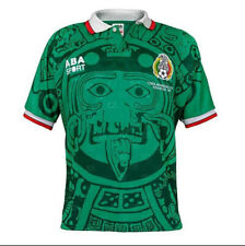 Mexico 1998 Home Retro Football Shirt Vintage Soccer Jersey
