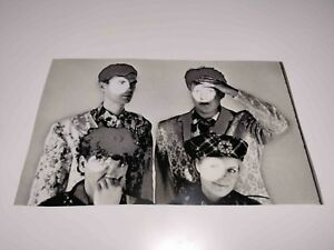 RARE VINTAGE PHOTO NEGATIVE TEST COLOR PROOF TALKING HEADS FROM ROGUE MAGAZINE