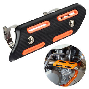 Exhaust Muffler Heat Shield Guard Cover Fit KTM SXF EXCF SMR 250 350 450 500