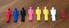 Vintage Power Rangers MMPR Thunderzord Assault Team Mini Figures +  Pink Crystal