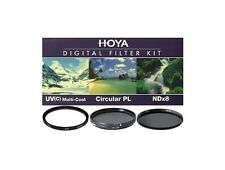 Hoya 67mm Digital Filter Kit (UV, ND8, Circular Polarizer ), London
