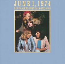 Ayers Cale Eno Nico - June 1 1974 (NEW CD)