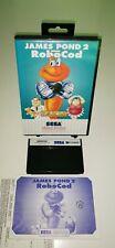 SEGA Master System Spiel JAMES POND 2 ROBOCOD RetroGame CIB