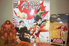 Marvel Legends Alpha Flight Lot