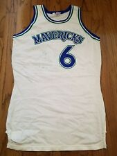 1980s Dallas Mavericks Rawlings White Jersey - see pics for condition