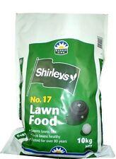 Shirleys No.17 10kg Lawn Fertiliser Granular Fast Green Grass Food Healthy