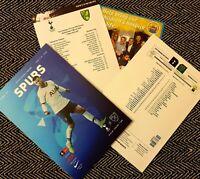 Tottenham v Norwich City FA CUP 5TH ROUND Programme 4/3/20!!!