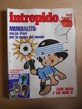 INTREPIDO n°1 1981 con inserto Speciale 1 Anno di Sport  [G421]