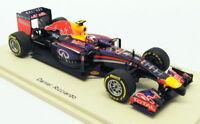 Spark 1/43 Scale S3086 - F1 Infiniti Red Bull Racing RB10 #3 Australian GP 2014