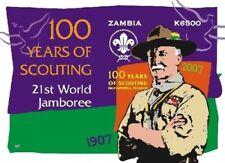 Zambia 2006 - BOY SCOUTS CENTENARY - Souvenir Sheet - Scott 1088 - MNH