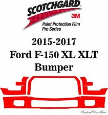 3M Scotchgard Paint Protection Film Pro Series 2015 2016 2017 Ford F-150 XL XLT