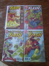 Flash Lot Of 4 Run 198 199 200 Secret files and orgins 3 DC Comics. No #197