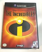 Incredibles Nintendo Gamecube Complete - Tested - Working!