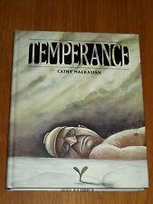 TEMPERANCE FANTAGRAPHICS CATHY MALKASIAN HARDBACK GRAPHIC NOVEL< 9781606993231