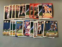 MM Lot of 23 BILLY RIPKEN Baseball Cards TOPPS Bowman Orioles++