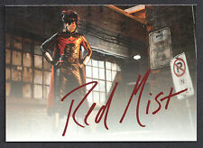 """KICK-ASS MOVIE CARDS (2010) """"AUTOGRAPH"""" CARD (Not Really Signed) by RED MIST"""