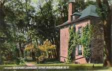 Postcard NY Amsterdam Montgomery Cty Old Fort Johnson Printed Germany ca 1906