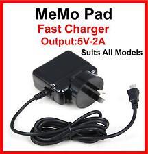 ASUS MeMo Pad AC Charger FHD 10 HD 7 ME172V ME170C ME302C ME173X ME301T 10.1